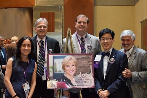 ASCO's delegates to the American Medical Association House of Delegates