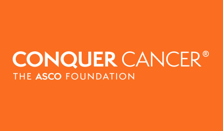 Logo for Conquer Cancer, the ASCO Foundation