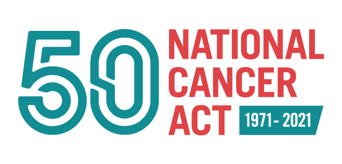 Logo for National Cancer Act Anniversary