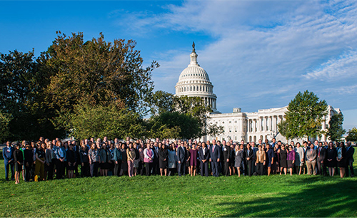 ASCO members at 2019 Advocacy Summit in Washington, DC