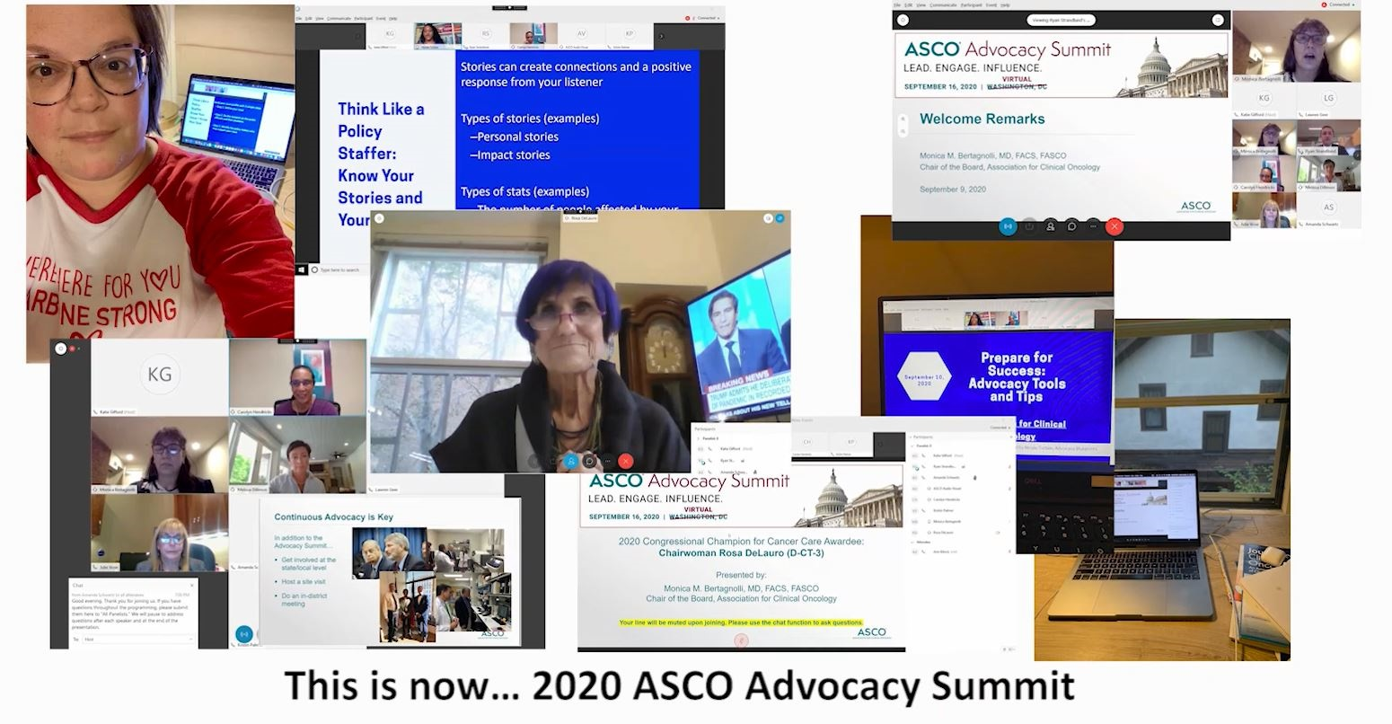 Images from 2020 Advocacy Summit