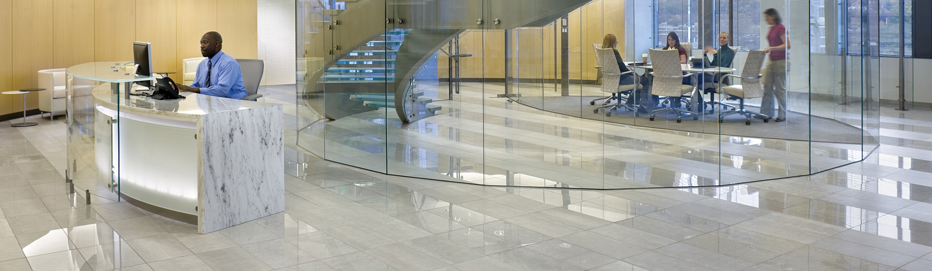 ASCO headquarters lobby