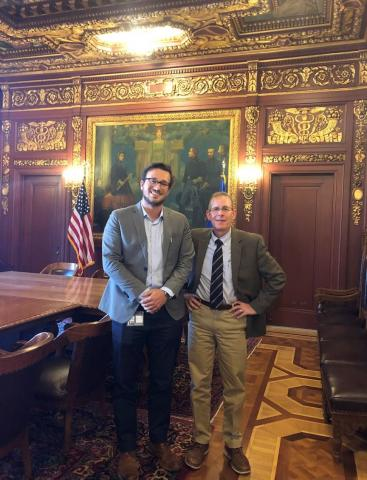 Wisconsin Governor's Office Meeting with ASCO Member