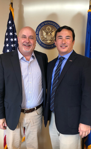 Rep. Mark Pocan with Dr. Randy Kimple