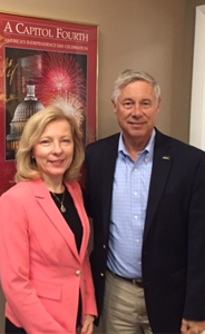 Rep. Fred Upton with Dr. Robin Zon