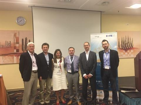 Faculty and organizers of an International Clinical Trials Workshop in Greece