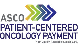 ASCO Patient-Centered Oncology Payment logo