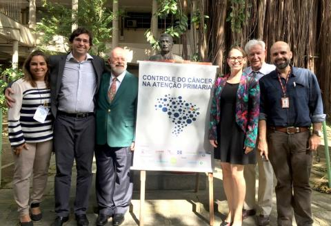 Faculty and organizers of a Cancer Control in Primary Care Course in Brazil